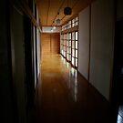 Temple Hallway by Sachi
