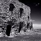 Tantallon Castle by miclile