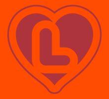 Heart L letter Kids Clothes