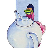 Girl with Tea by mrana