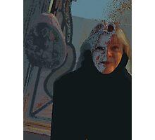 Self-Portrait in Blue Photographic Print