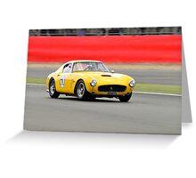 Ferrari 250 SWB No 60 Greeting Card