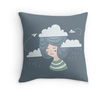 Women's thoughts Throw Pillow