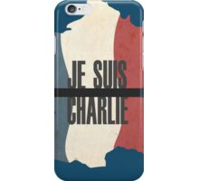 Je Suis Charlie - All proceeds donated to Reporters Without Borders iPhone Case/Skin