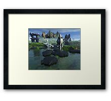 The Artogra Ruins Framed Print