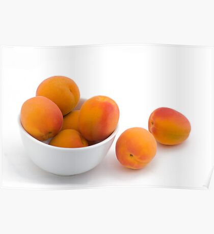 Fresh Apricots Poster