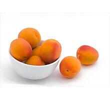 Fresh Apricots Photographic Print