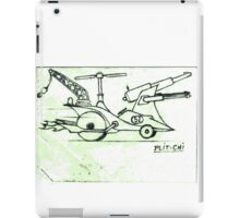 Helicopter car iPad Case/Skin