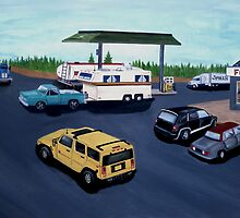 Truck Stop by Weshon  Hornsby