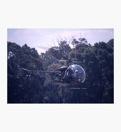 Bell 47 Helicopter @  Nowra, Australia 1997 Photographic Print