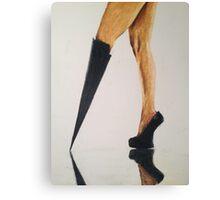Modesta Heels, by James Patrick Canvas Print