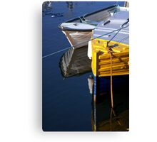 Ropes - Carnlough Harbour Canvas Print