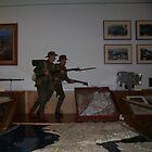 army guns(Canberra War Memorial Australia) by tigerboy9