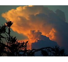 """ Late Storm"".. Photographic Print"