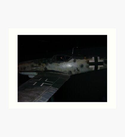 Plane at the (australia War Memorial) Art Print