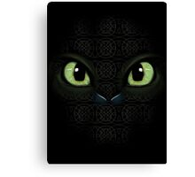 Heart of a chied, soul of a dragon Canvas Print