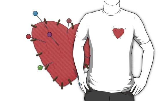 Pin Cushion Heart by Scissorman