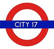 London Underground - City 17 (Half-Life 2) Photographic Print