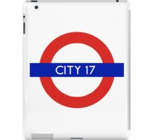 London Underground - City 17 (Half-Life 2) iPad Case/Skin