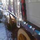 Icicles on the waggon by elsiebarge