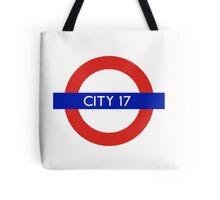 London Underground - City 17 (Half-Life 2) Tote Bag