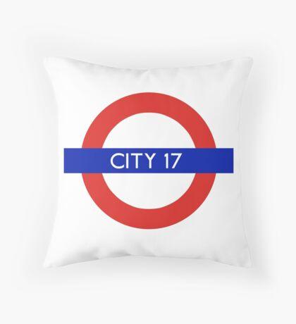 London Underground - City 17 (Half-Life 2) Throw Pillow
