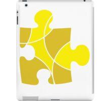 Yellow Puzzle Piece iPad Case/Skin