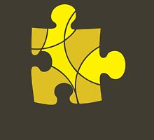 Yellow Puzzle Piece Unisex T-Shirt