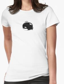 Little Lost Orca Womens Fitted T-Shirt