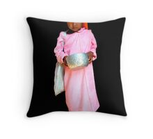 NOVICE NUN - BURMA Throw Pillow