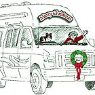 Christmas Card  by Sherry Cummings