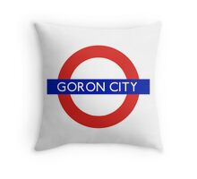 London Underground - Goron City (Zelda) Throw Pillow