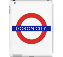 London Underground - Goron City (Zelda) iPad Case/Skin