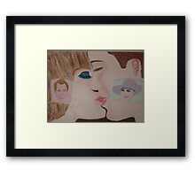 """ Oh Babe First Marriage Kiss  - Now April 29, 2011"" Prince William and Kate Middleton Framed Print"