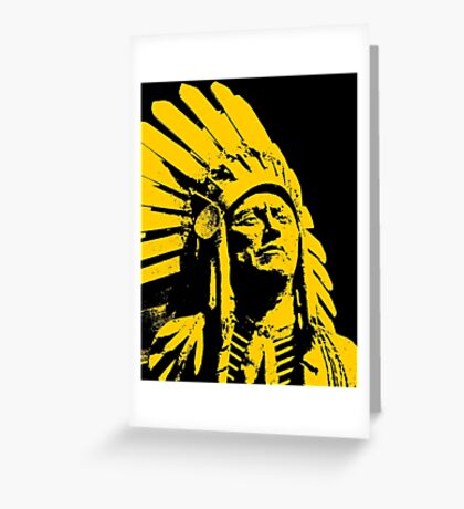 QUANAH PARKER Greeting Card