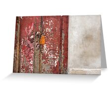 old red door Greeting Card
