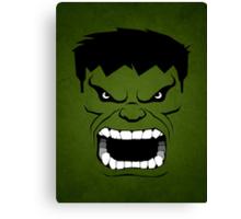 Green Hulk Canvas Print