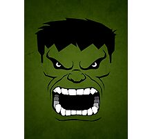 Green Hulk Photographic Print