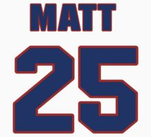 National Hockey player Matt Carle jersey 25 by imsport