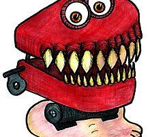Chattery Teeth by BettyRocksteady