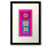 Vase Flower Framed Print