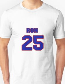 National Hockey player Ron Handy jersey 25 T-Shirt