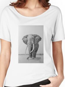 Deserted Women's Relaxed Fit T-Shirt