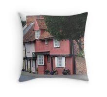 Cottage at Bury Saint Edmunds Suffolk Throw Pillow