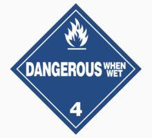 Dangerous when wet One Piece - Long Sleeve