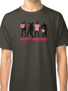 Funny zombies love gifts Valentines Day Classic T-Shirt