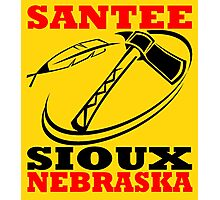 SANTEE SIOUX Photographic Print