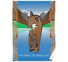 The Spirit Of Viking Art Poster