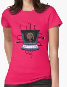 Brave Little Toaster Computer Womens Fitted T-Shirt
