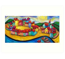 SPRING BLESSINGS IN ELEUSIS.   Art Print